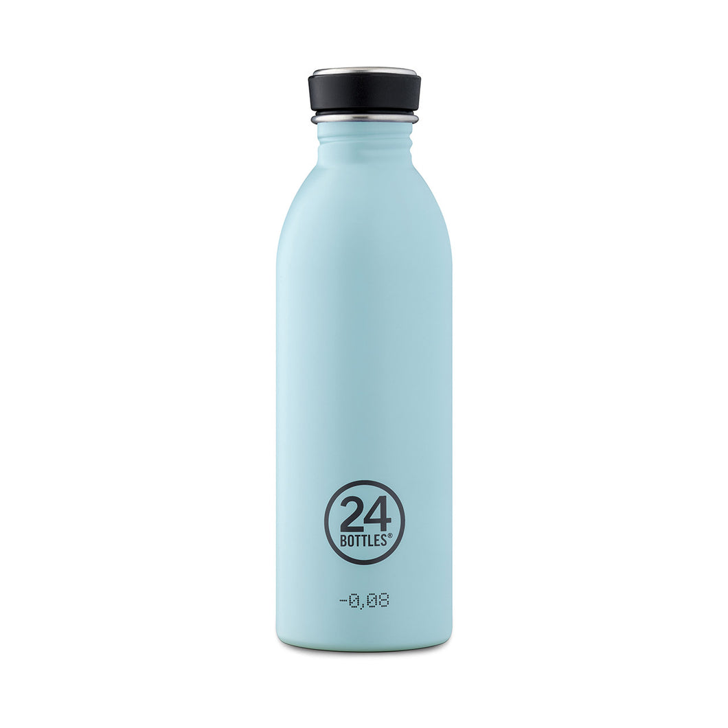 24Bottles - Pastel Collection - Urban Bottle - Stainless Steel Drink Bottle - 500ml - Cloud Blue