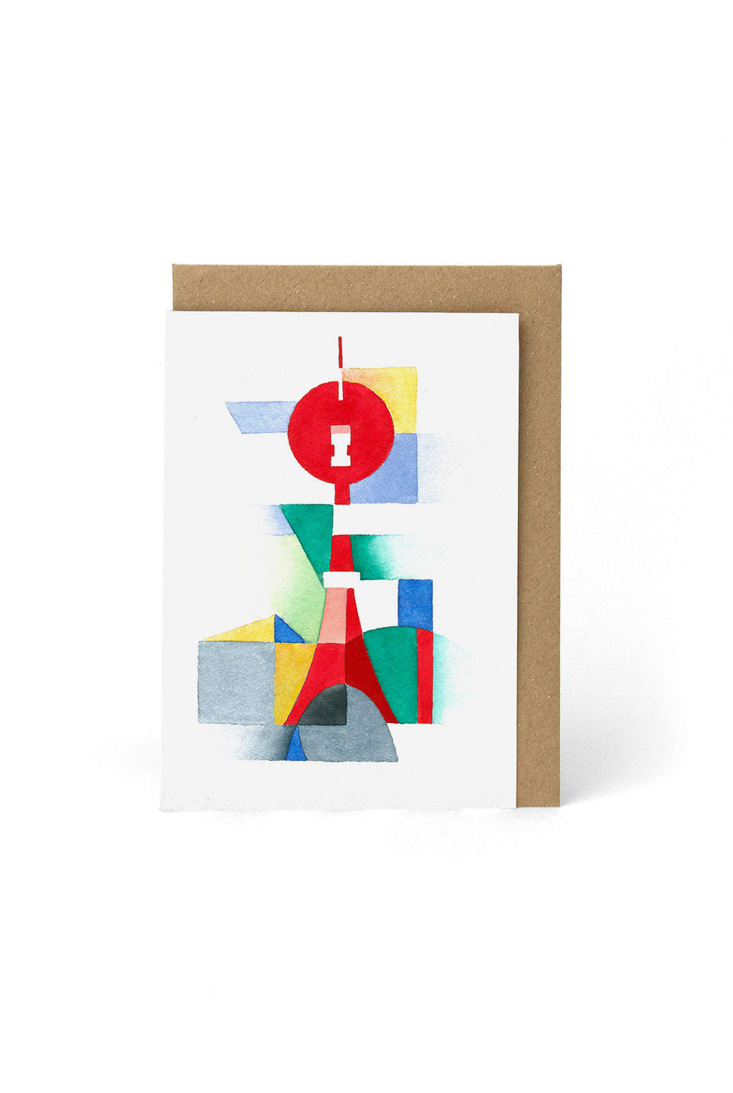 Papier Tigre - Single Card - Paris