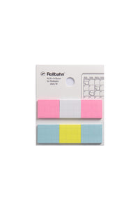 Delfonics - Sticky Memo for Rollbahn Diary - Medium - Multicolour