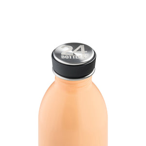 24Bottles - Pastel Collection - Clima Bottle - Stainless Steel Drink Bottle - 500ml - Peach Orange