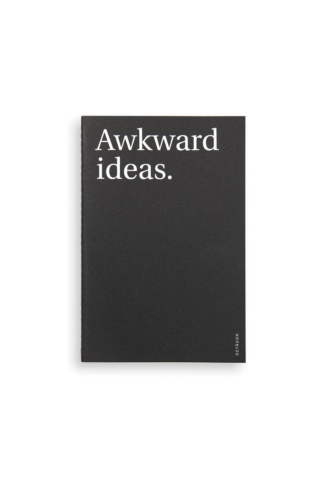 Octagon - Awkward Ideas Notebook - Dot Grid - A5 - Black