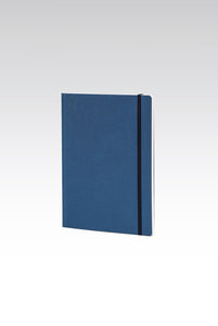 Fabriano Boutique - EcoQua Notebook with Elastic Band - Ruled - A5 (14.8x21cm) - Blue