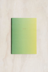 O-Check Design Graphics - Exercise Book - Plain - Medium (14.8x21cm) - Supernova Green