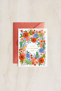 Rifle Paper Co - Single Card - Valentine's Day Bouquet