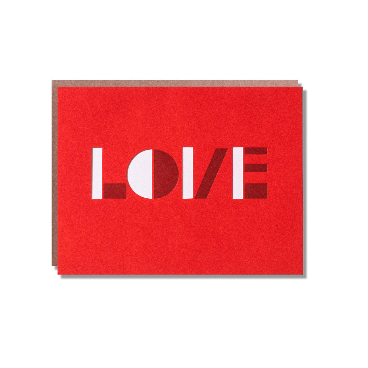 Egg Press - Single Card - Optical Love