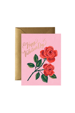 Rifle Paper Co - Single Card - Roses are Red