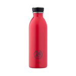 Load image into Gallery viewer, 24Bottles - Chromatic Collection - Urban Bottle - Stainless Steel Drink Bottle - 500ml - Hot Red
