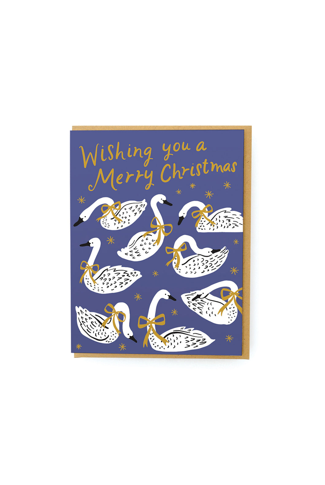 Hello Lucky - Single Card - Swans A Swimming