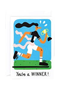 WRAP - Lawrence Slater Collection - Single Card - You're A Winner