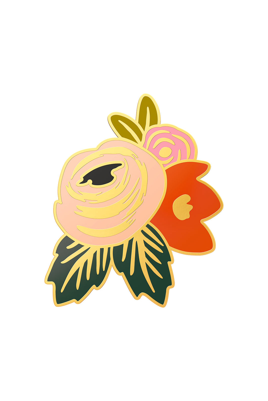 Rifle Paper Co - Enamel Pin - Rosa Flower