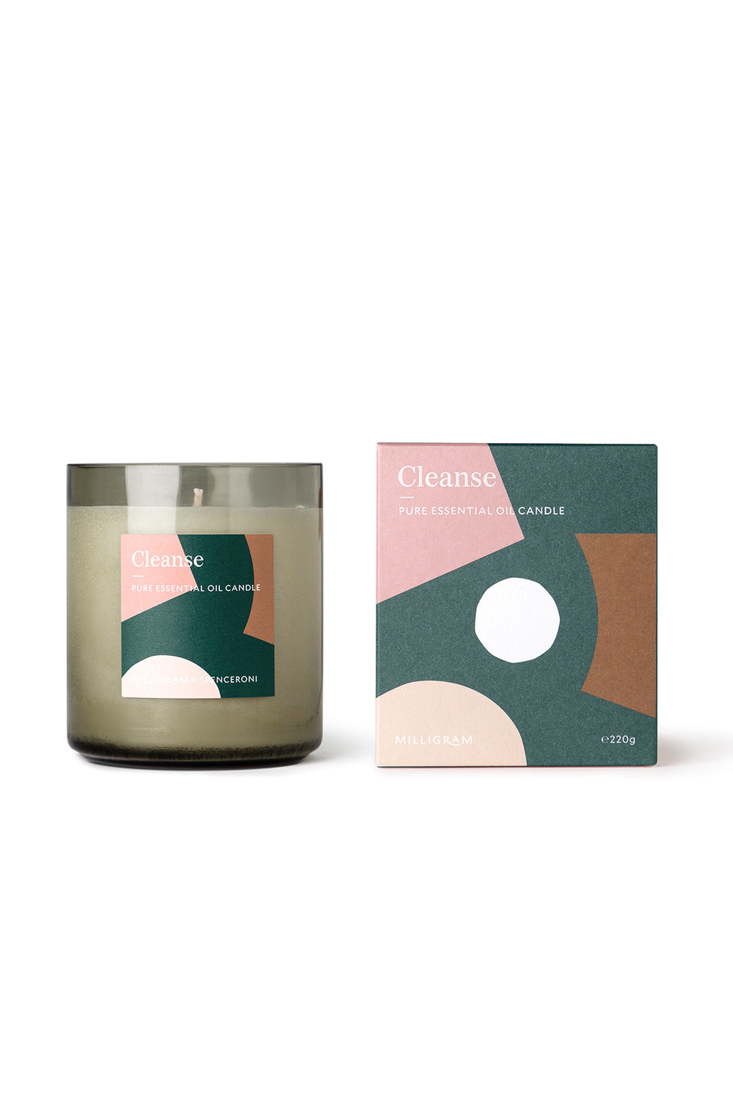 Milligram – Candle – Cleanse