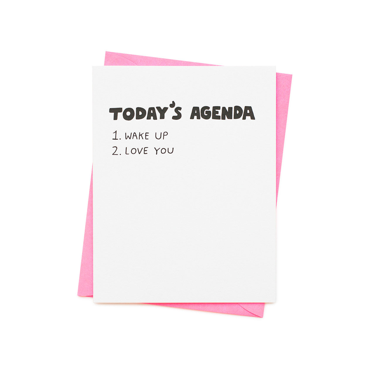 Ashkahn - Single Card - Today's Agenda