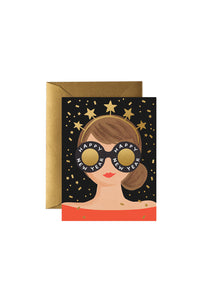 Rifle Paper Co - Single Card - New Year Girl