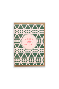 CUB by Katie Leamon - Single Card - Merry & Bright