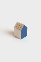 Load image into Gallery viewer, Papier Tigre - Tiny House - Card Holder - Blue