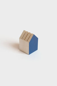Papier Tigre - Tiny House - Card Holder - Blue