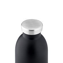 Load image into Gallery viewer, 24Bottles - Basic Collection - Clima Bottle - Stainless Steel Drink Bottle - 500ml - Tuxedo Black