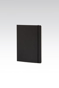 Fabriano Boutique - EcoQua Notebook with Elastic Band - Ruled - A5 (14.8x21cm) - Black