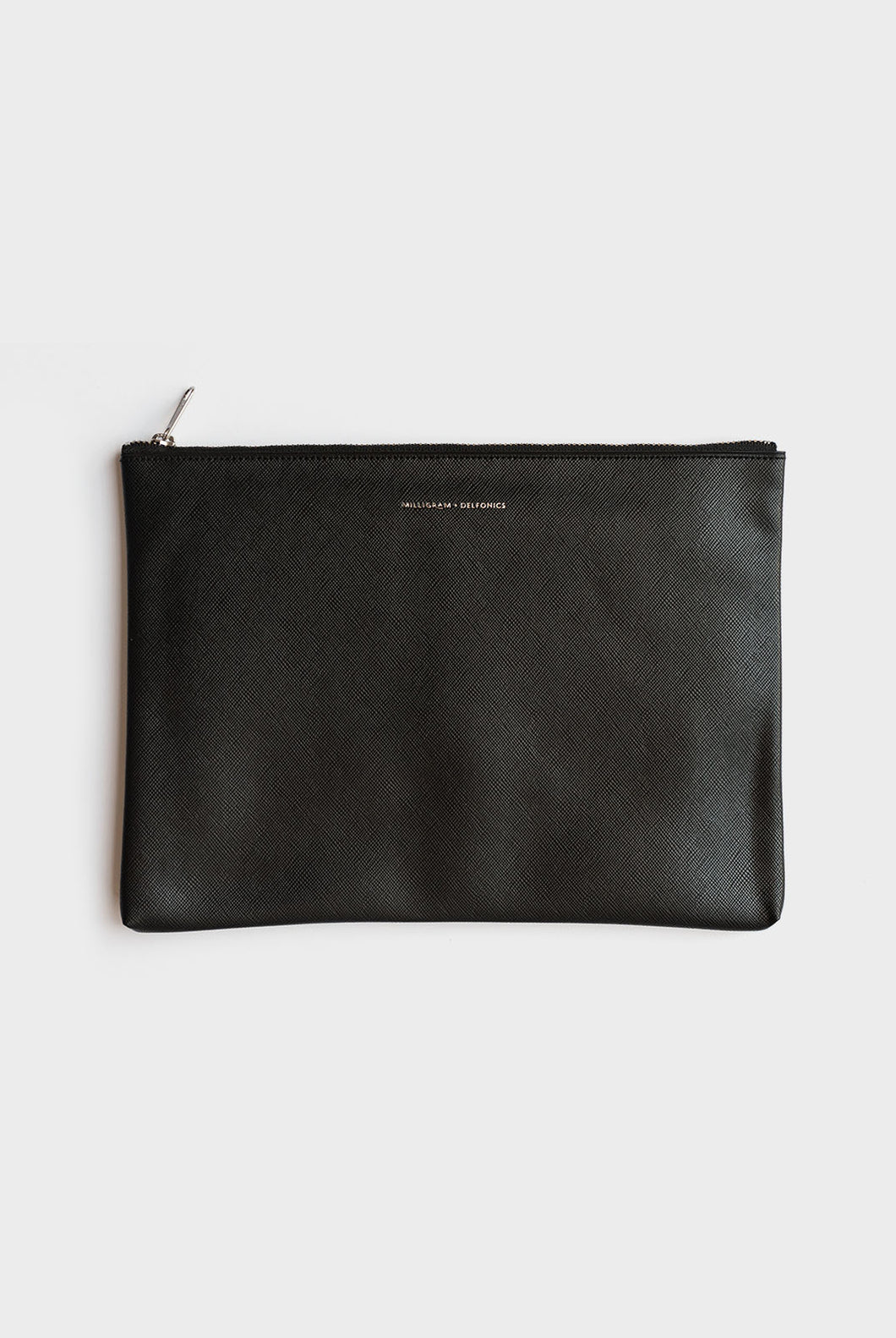 Milligram + Delfonics Collaboration - Pouch - Large (26x18cm) - Black