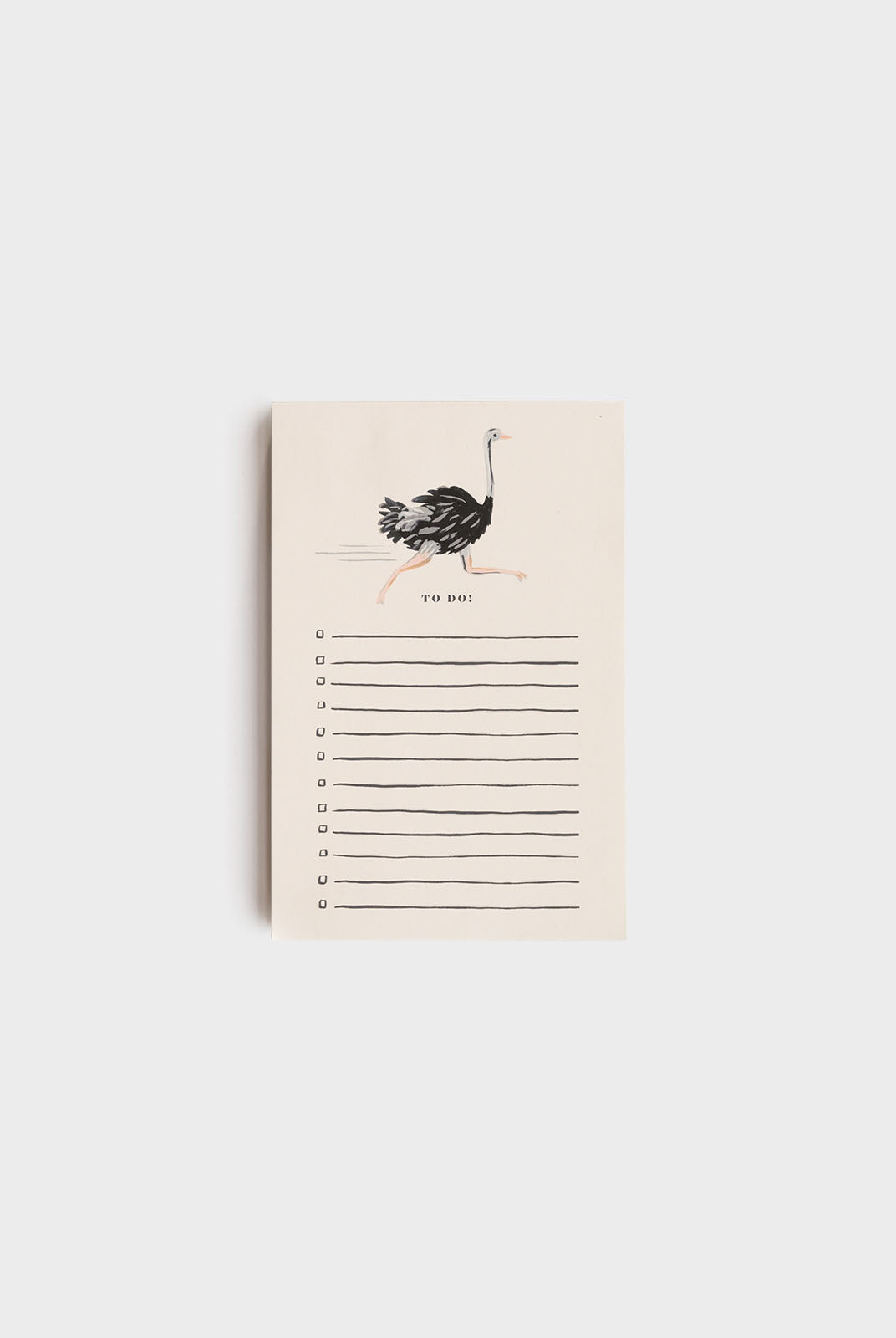 Rifle Paper Co - Notepad - Ostrich