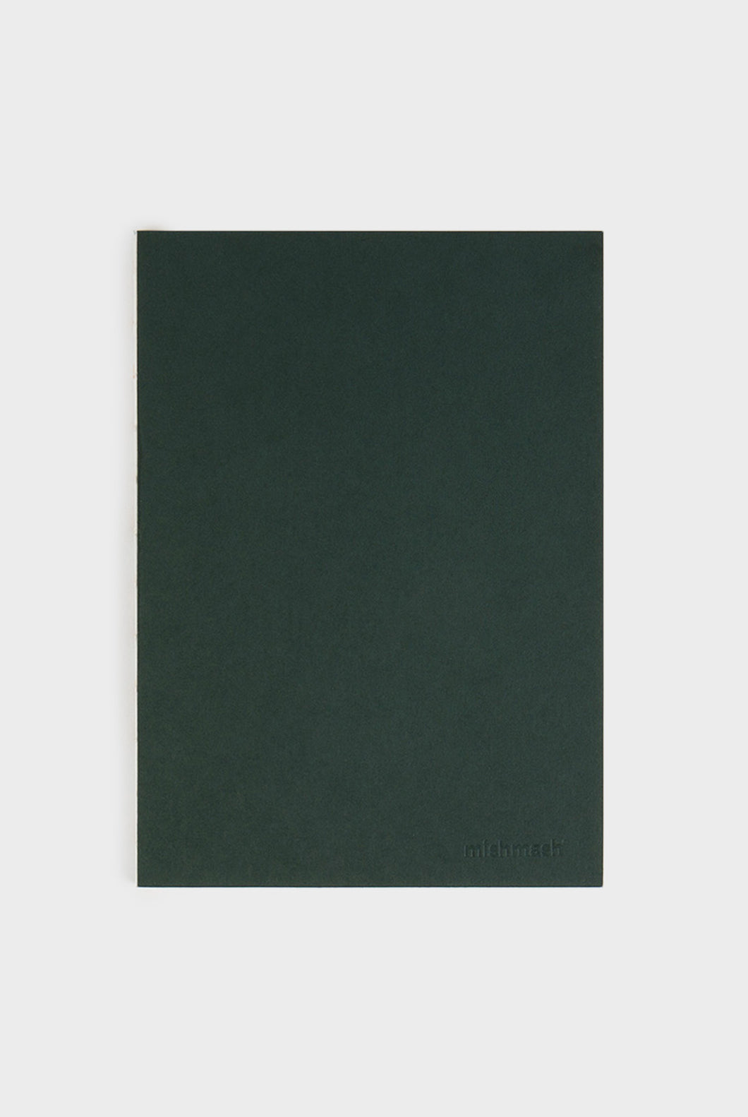 mishmash - Holy Golden Notebook - Plain - B5 - Racing Green