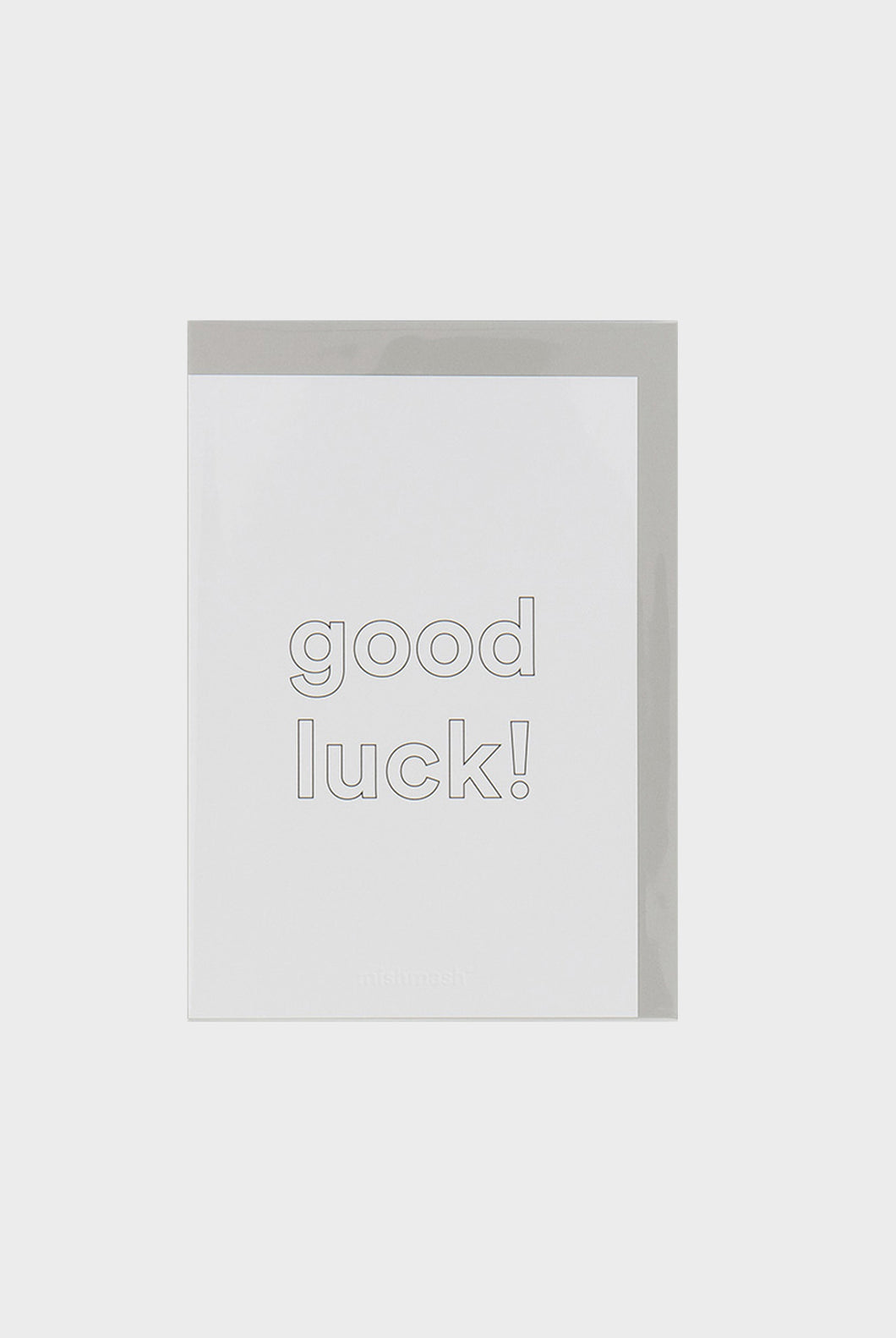mishmash - Customisable Greeting Card - Good Luck