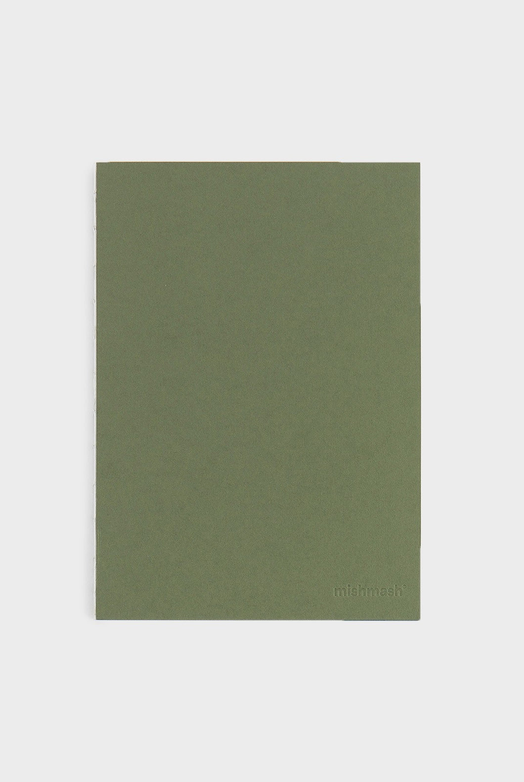mishmash - Holy Silver Notebook - Plain - B5 - Mid Green