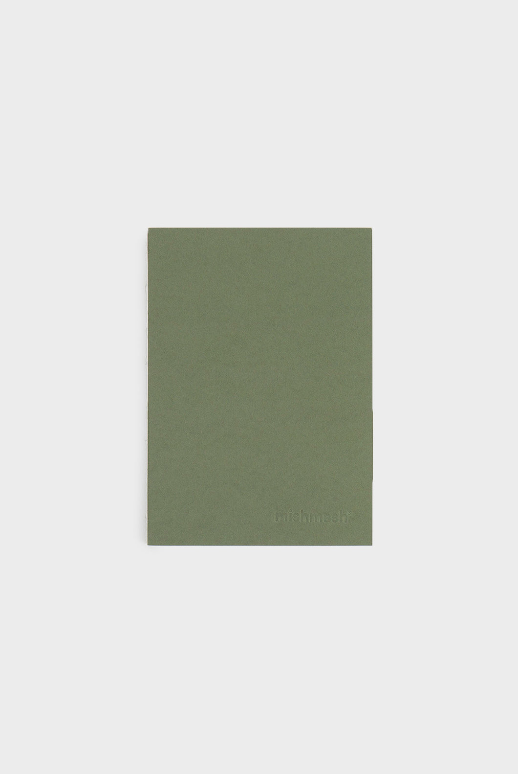 mishmash - Holy Silver Notebook - Plain - A6 - Mid Green