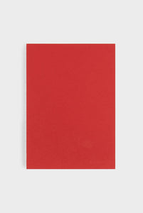 mishmash - Holy Silver Notebook - Plain - B5 - Red