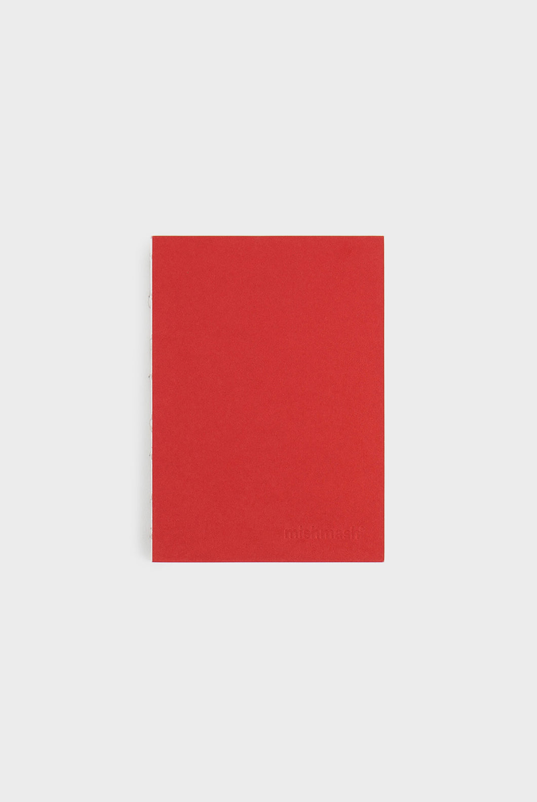 mishmash - Holy Silver Notebook - Plain - A6 - Red