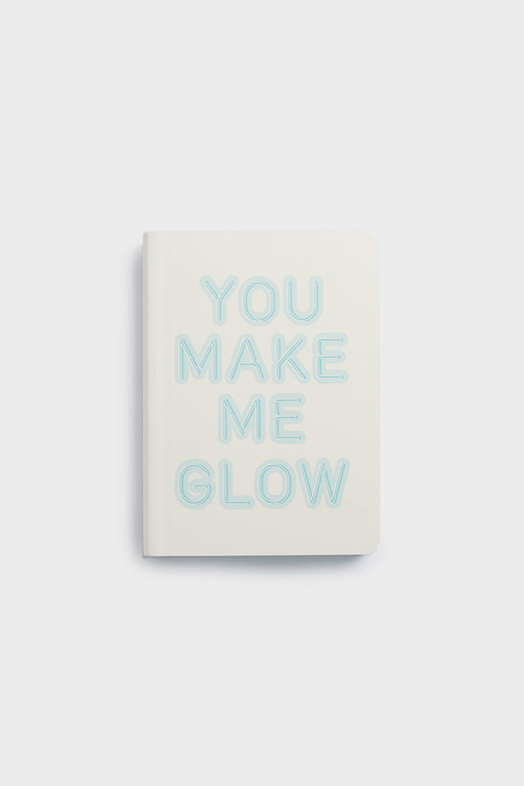 nuuna - Graphic Glow Notebook - Mini Dot Grid - Small - You Make Me Glow