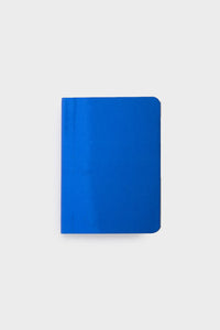 nuuna - Metallic Notebook - Mini Dot Grid - Small - Shiny Starlet Blue
