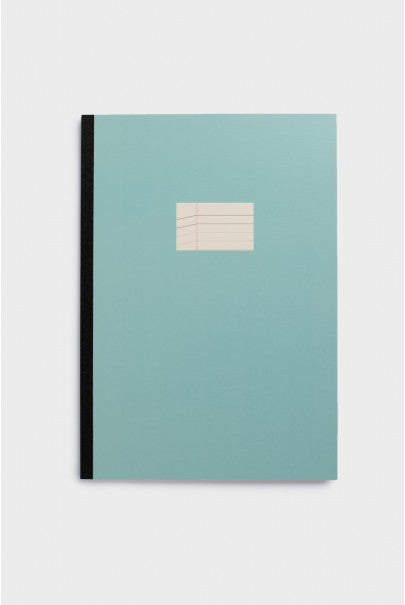 Paperways - Soft Cover Notebook - Ruled - A4 - Sky Blue