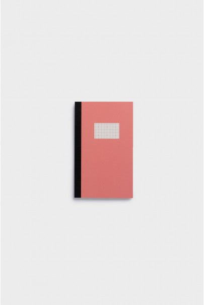 Paperways - Soft Cover Notebook - 5x5 Grid - Small - Pink