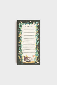 Rifle Paper Co - Shopping Pad - Country Farm