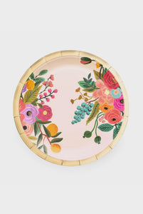 Rifle Paper Co - Paper Plates - Set of 10 - Large - Garden Party