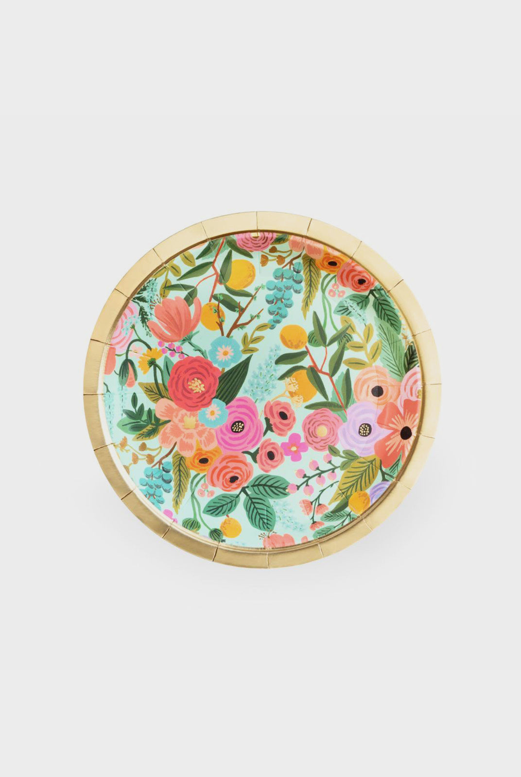 Rifle Paper Co - Paper Plates - Set of 10 - Small - Garden Party