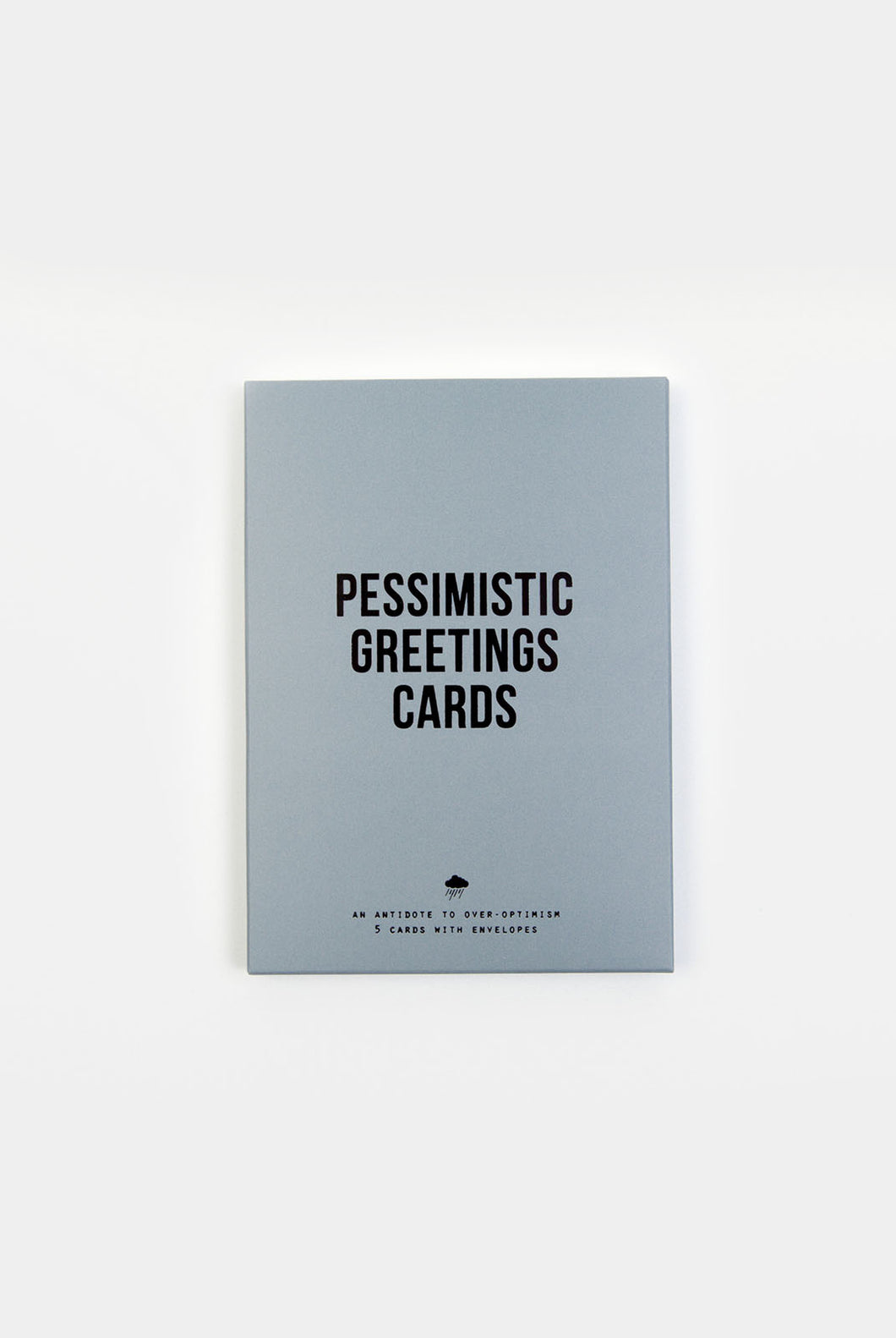 The School Of Life - Pessimistic Greeting Cards - Set of 5