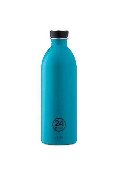 24Bottles - Earth Collection - Urban Bottle - Stainless Steel Drink Bottle - 1000ml - Atlantic Bay