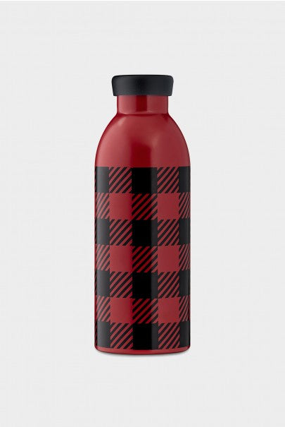 24Bottles - Limited Edition Collection - Clima Bottle - Stainless Steel Drink Bottle - 500ml - Woolrich