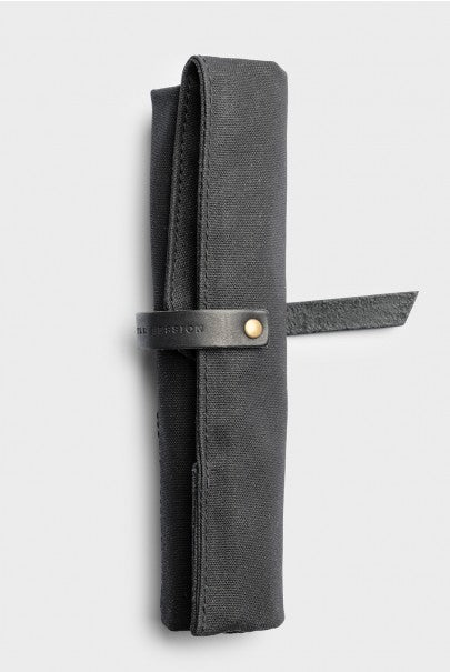 Winter Session - Roll-Up - Black Waxed Canvas