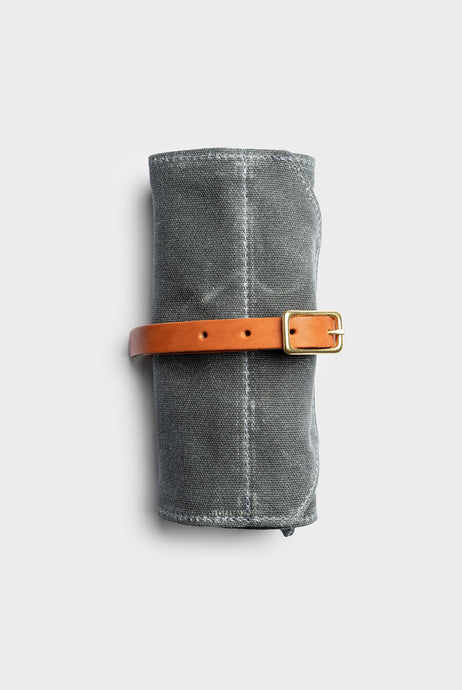 Winter Session - Utility Roll - Grey Waxed Canvas