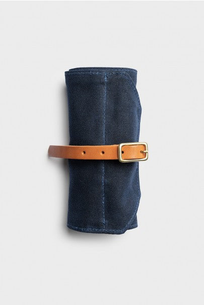 Winter Session - Utility Roll - Navy Waxed Canvas