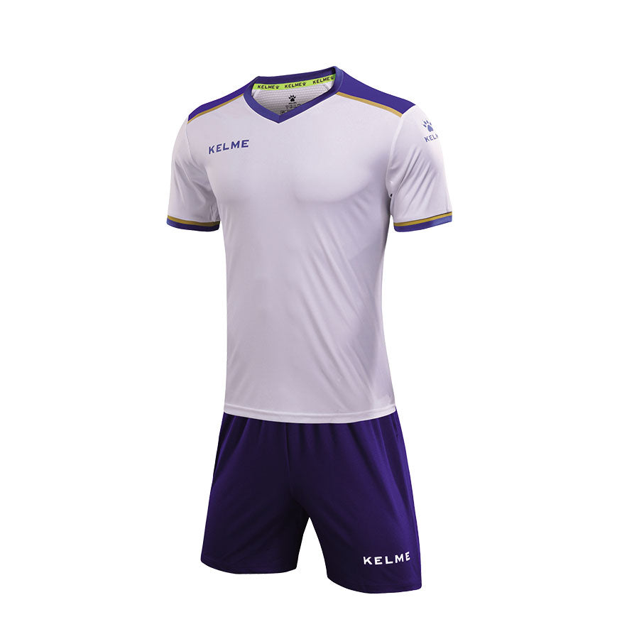 Soccer Set White Royal blue