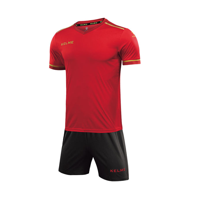 Soccer Set Red / Dark Metal Gray