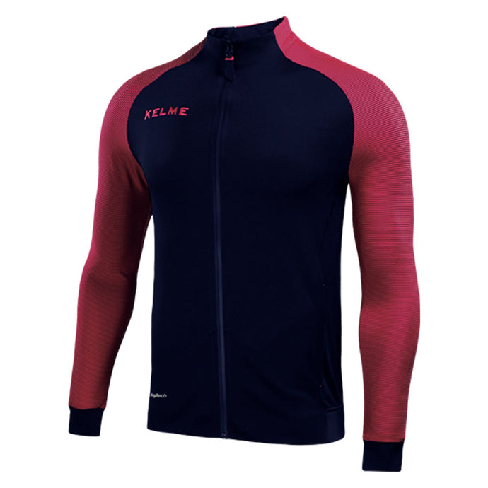 Training Jacket Deep Blue/ Neon Rose