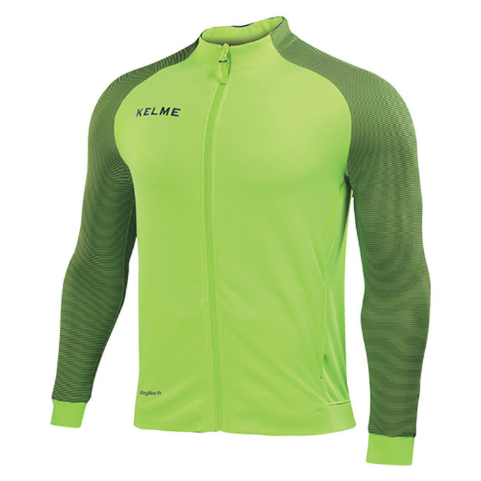 Training Jacket Adult Neon Yellow