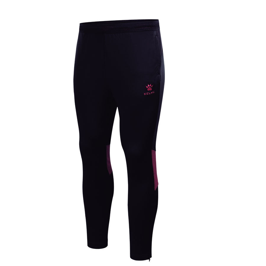 Adult Training Pants Dark Blue / Neon Rose