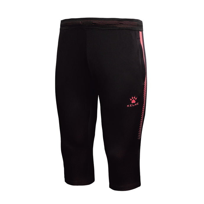 3/4 Adult Training Pants Dark Blue/Neon Rose