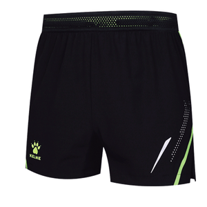 Woven Short Black Neon Green